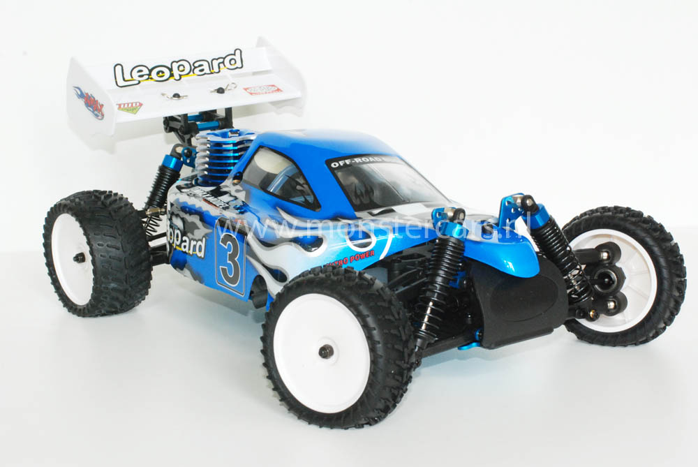 HSP 1:10 Nitro Buggy Blue 2,4 GHz!