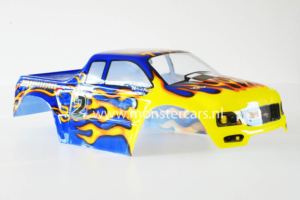 Casing Truck Blue Yellow Atlas