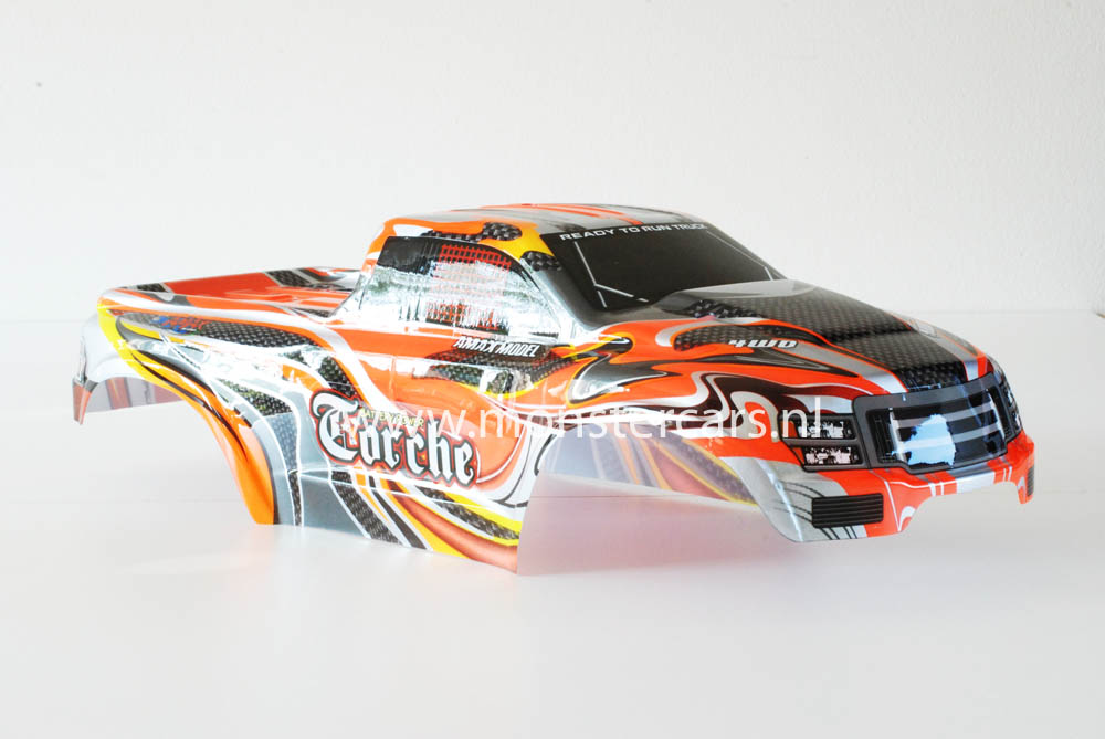 Casing Truck Orange Carbon