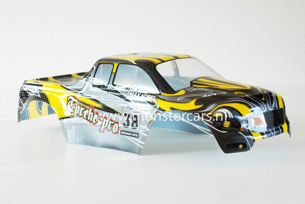 Casing Truck Yellow Carbon