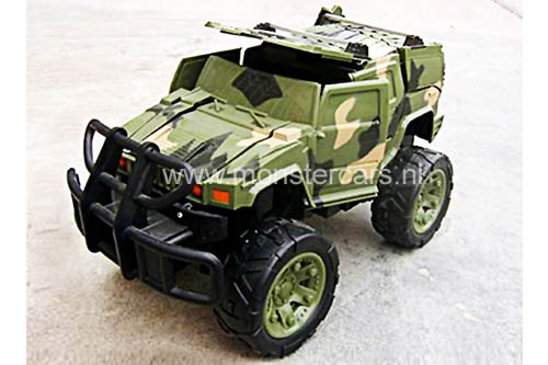 RC 1:16 Army Crash Jeep