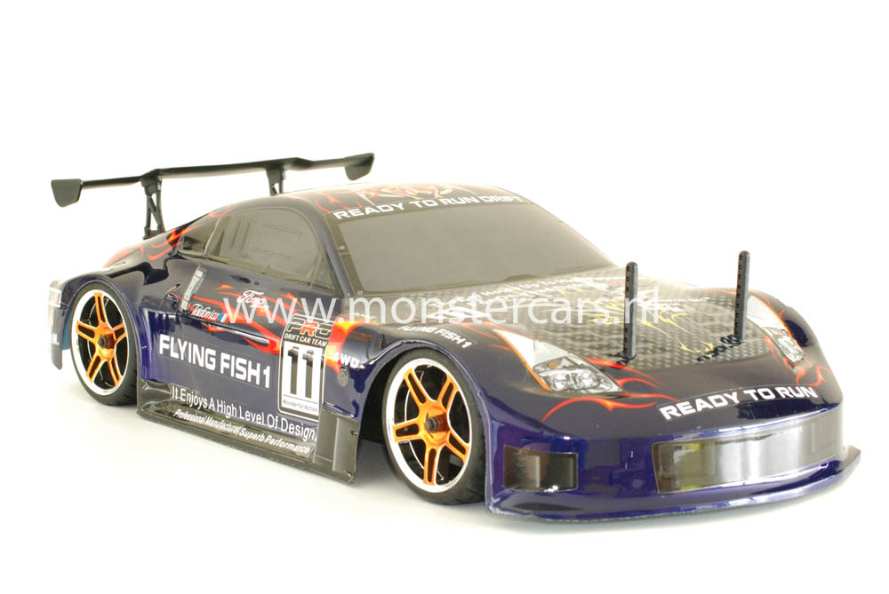 Fast RC 1:10 Brushless Porsche 911 Purple