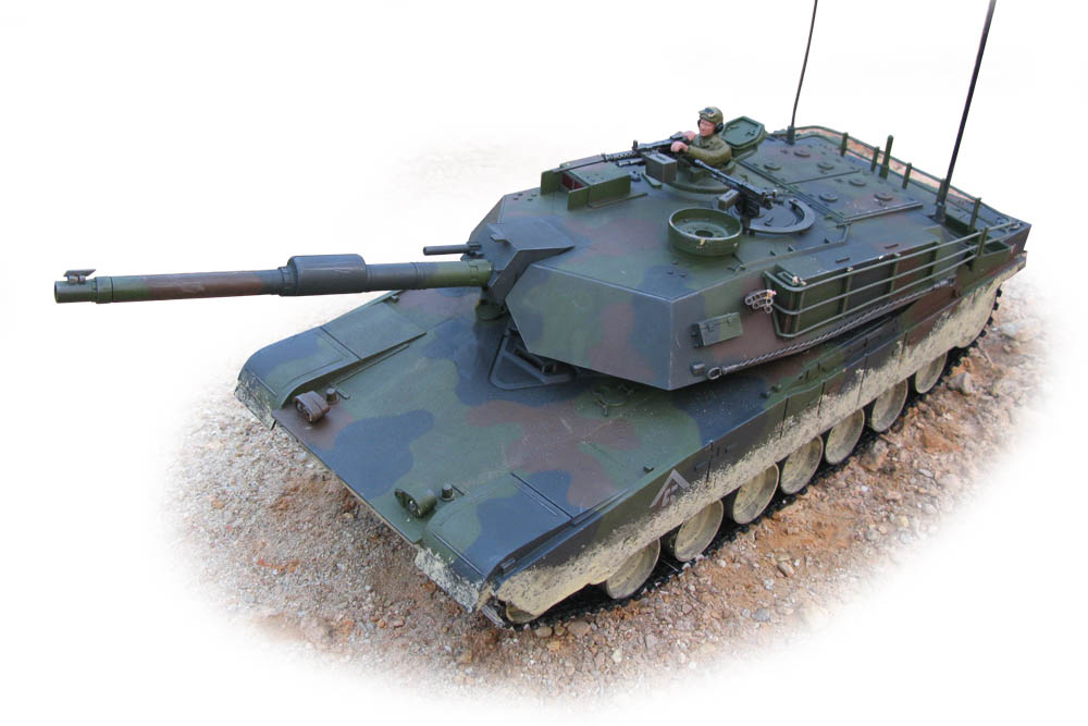 Hobby Engine Abrams M1 1:16 Forest RC Tank PRO EDITIE