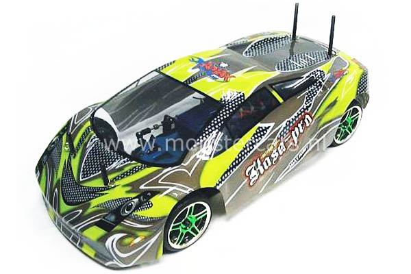 Fast RC 1:10 Brushless Lamborghini Green AANBIEDING!