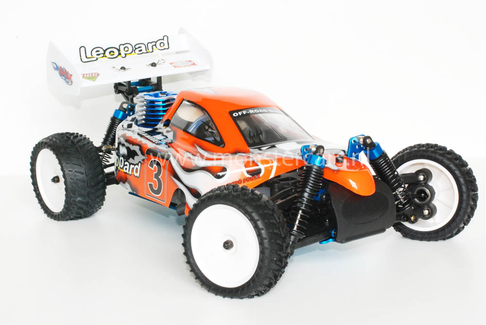 HSP 1:10 Nitro Buggy Orange 2,4 Ghz!