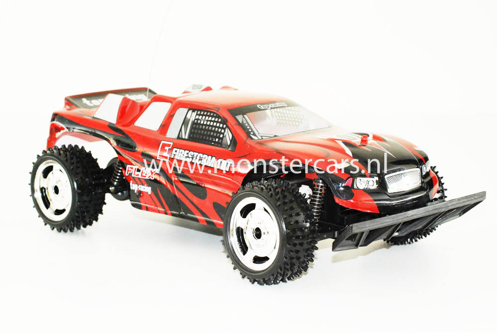 RC 1:10 Truggy Red Firestorm AANBIEDING!