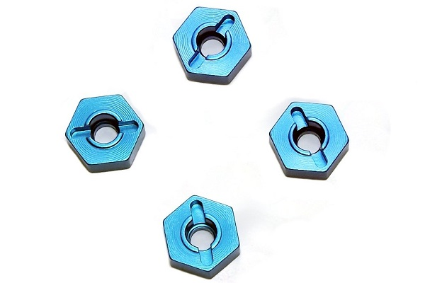 102042 / 02100 Aluminium Wheel Hex Mounts