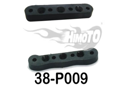 38-P009 Front/Rear Suspension Arm Mount Himoto MegaE