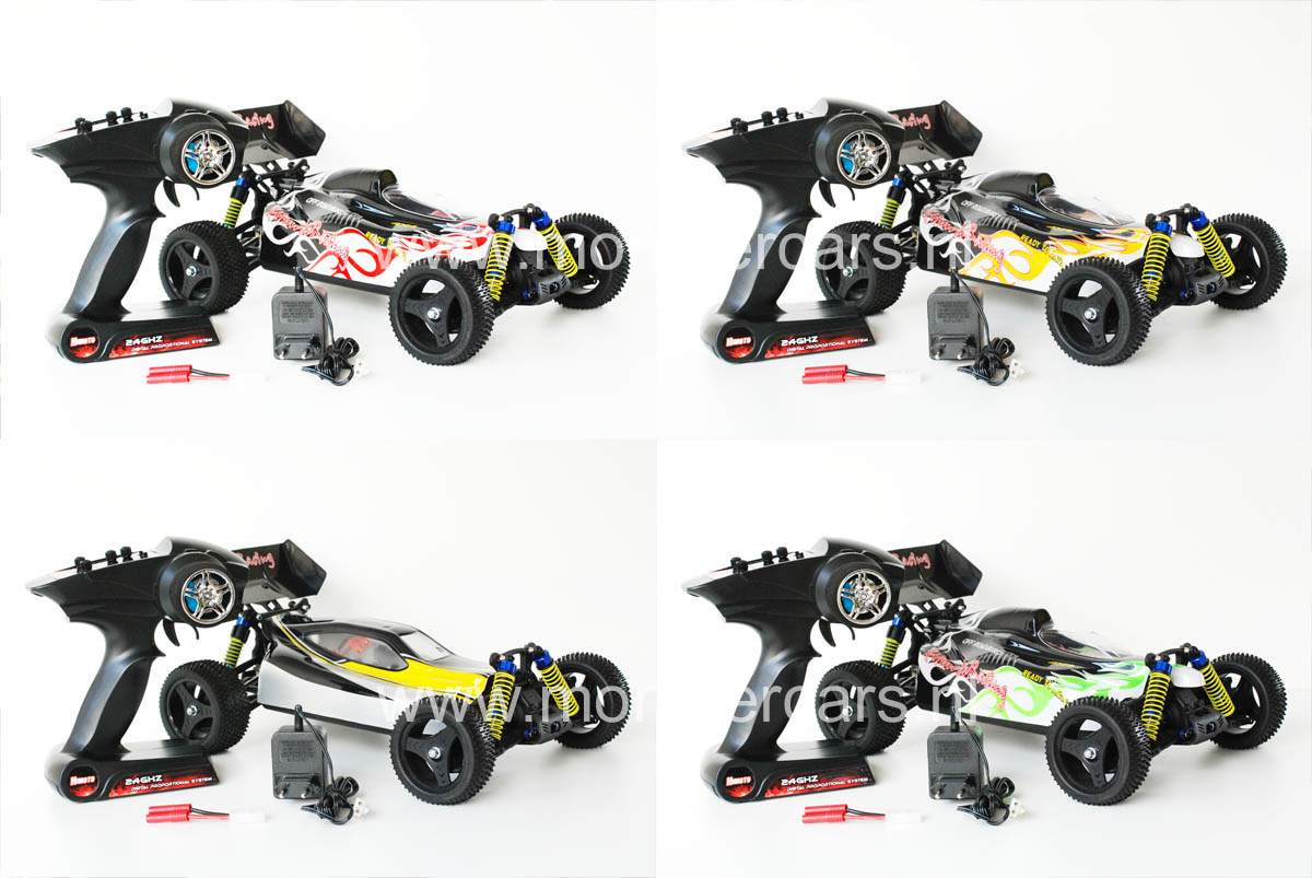 NEW! Fast Brushless Himoto Megae XB10 Buggy 2.4GHz
