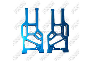 860003 Front Lower Suspension Arm Aluminium 1:8