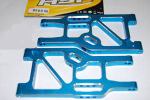 860004 Rear Lower Suspension Arm Aluminium 1:8