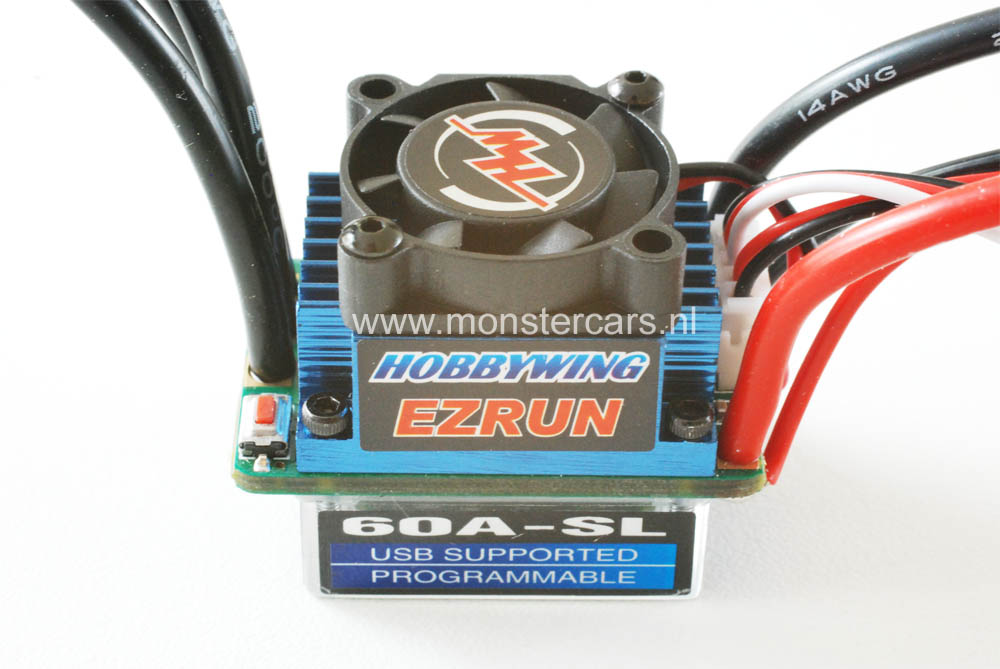 EZRun 60A Brushless ESC