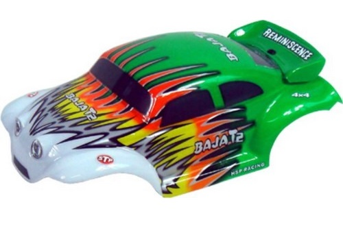 Casing Baja Beetle Green White