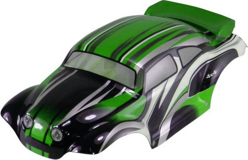 Casing Baja Beetle Green Grey
