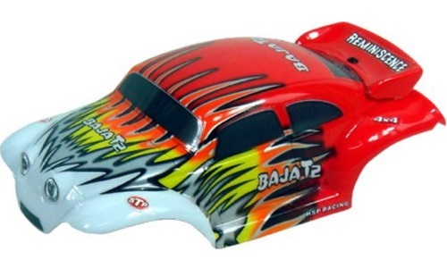 Casing Baja Beetle Red White