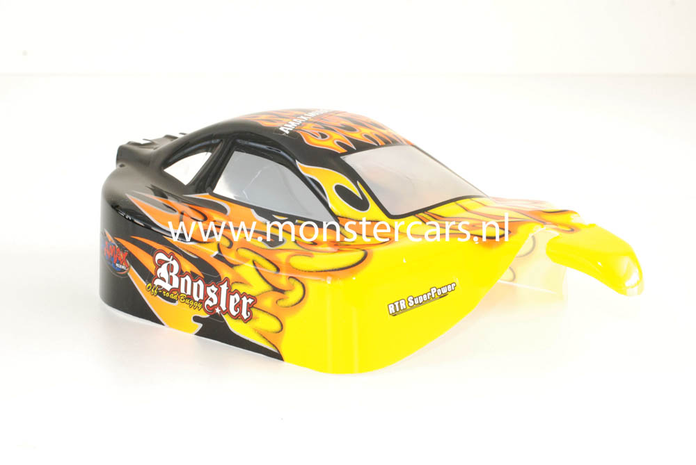 Casing Buggy Black Flames