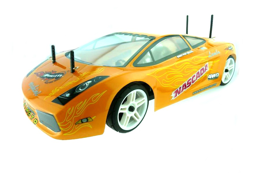 Casing/Kap Lamborghini Orange Flames