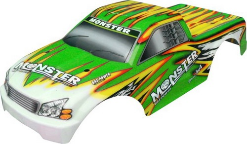 Casing Truck Green Venom