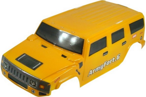 Casing Truck Hummer Yellow
