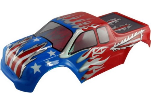 Casing Truck Red American Flag