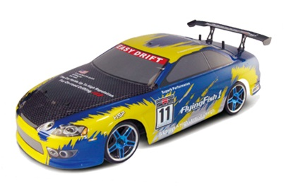 HSP 1:10 Drift Auto Yellow Carbon
