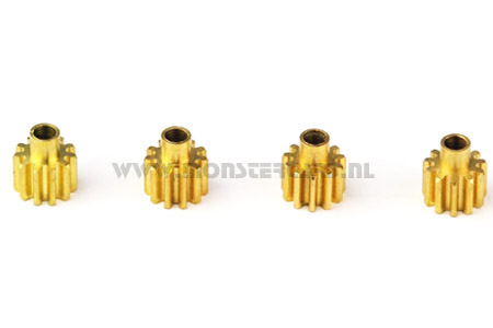 Gear Brass 2.3mm shaft, EK1-0352