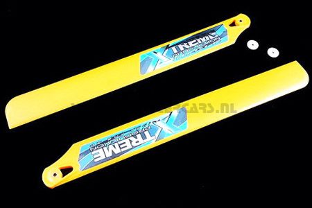 Fiber Plastic Blade 275mm - Yellow