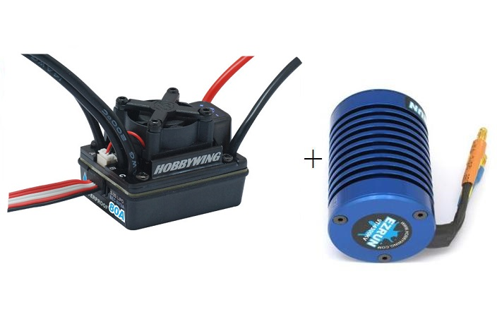 EZRun 80A Brushless Upgrade Set [Motor+Regelaar!] SUPERDEAL!