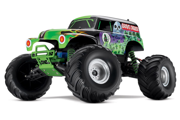 *Traxxas Grave Digger 27MHZ Show Room Model
