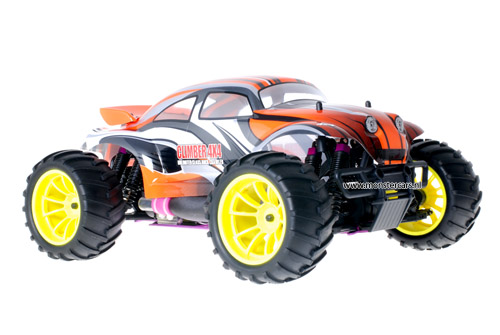 Himoto 1:10 Nitro Truck Baja Beetle Orange