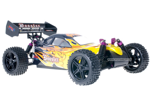 Himoto 1:10 Buggy Black Flames