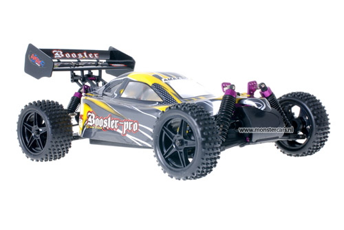 Himoto 1:10 Buggy Yellow Carbon