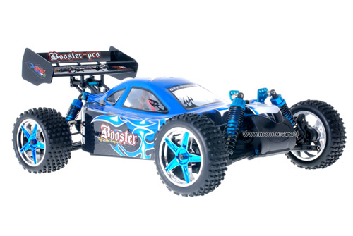 Fast 1:10 Brushless Buggy Black Blue 2.4GHz AANBIEDING!