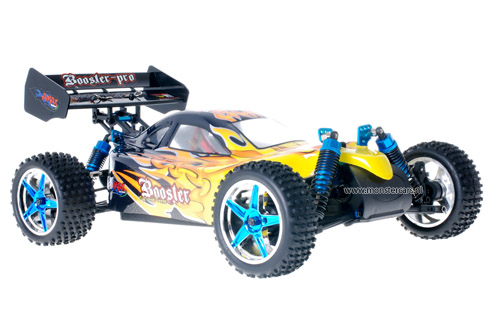 Fast 1:10 Brushless Buggy Black Flames 2.4GHz AANBIEDING!