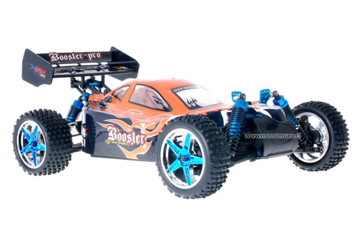 Fast 1:10 Brushless Buggy Black Orange 2.4GHz AANBIEDING!