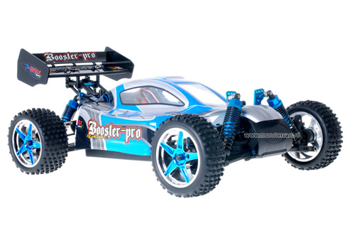 Fast 1:10 Brushless Buggy Cool Blue 2.4GHz AANBIEDING!