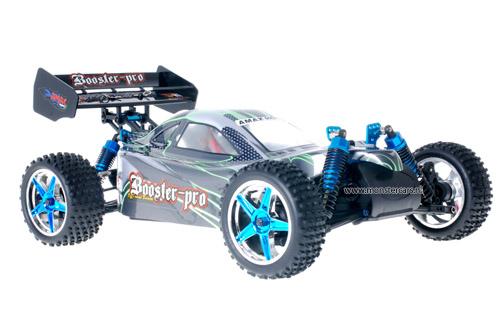 Fast 1:10 Brushless Buggy Green Carbon 2.4GHz AANBIEDING!