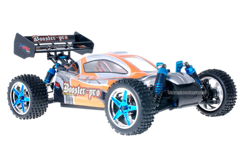 Fast 1:10 Brushless Buggy Grey Orange 2.4GHz AANBIEDING!