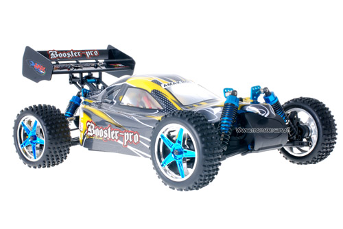 Fast 1:10 Brushless Buggy Yellow Carbon 2.4GHz AANBIEDING!