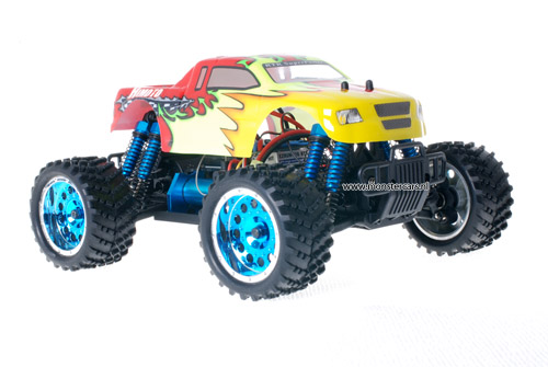 Himoto 1:16 Brushless Truck 2.4GHz Red Explosive