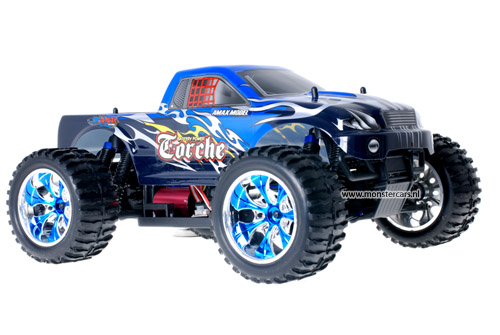 Himoto Brushless Truck Black Blue 2.4GHz AANBIEDING!
