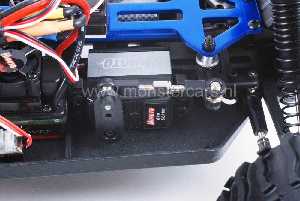 Himoto Brushless Truck Hummer Black 2.4GHz AANBIEDING!