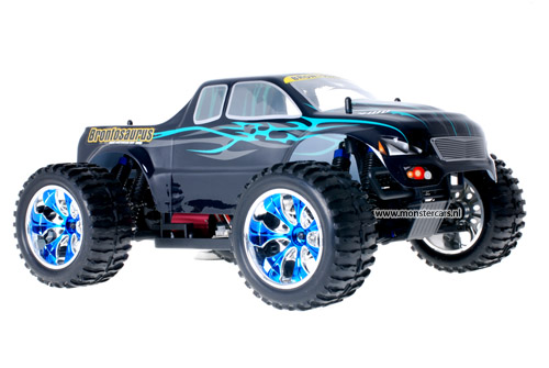 Himoto Brushless Truck Dracul Green 2.4GHz AANBIEDING!