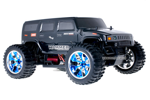 Brushless Truck Hummer Black AANBIEDING!
