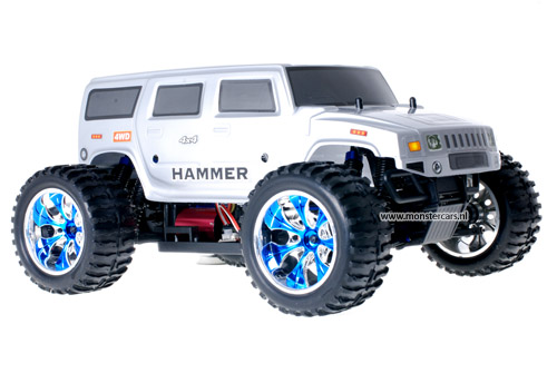 Brushless Truck Hummer Grey AANBIEDING!