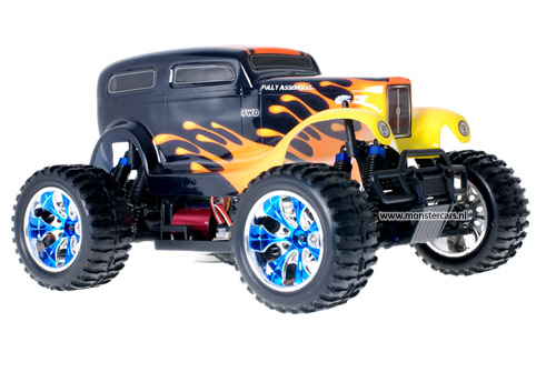 Brushless Truck Undertaker + LED-Lights AANBIEDING!