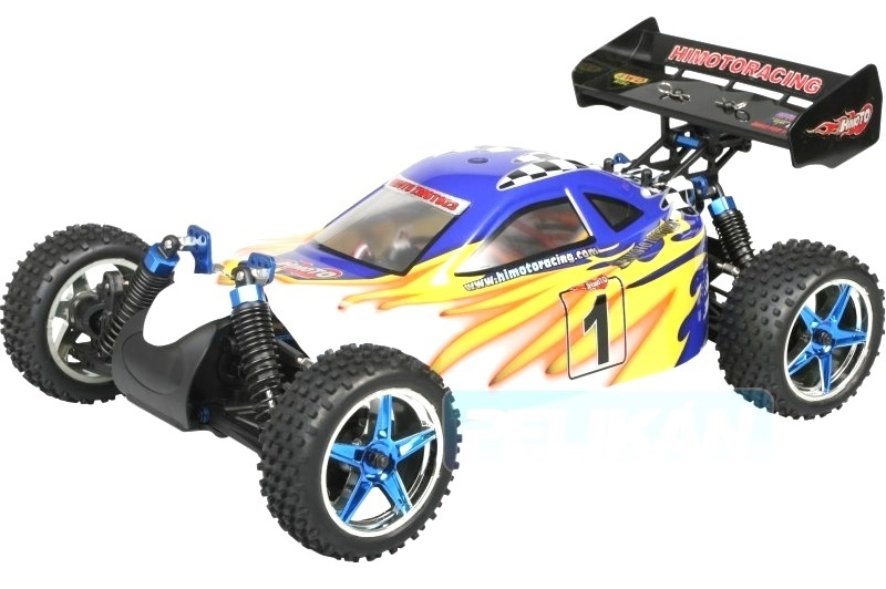 Fast 1:10 Brushless Buggy Blue White 2.4GHz AANBIEDING!