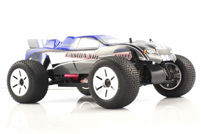 Himoto 1:10 Brushless EAMBA Truggy Blue Grey