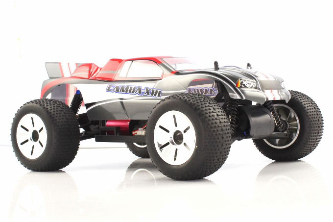 Himoto 1:10 Brushless EAMBA Truggy Red Grey