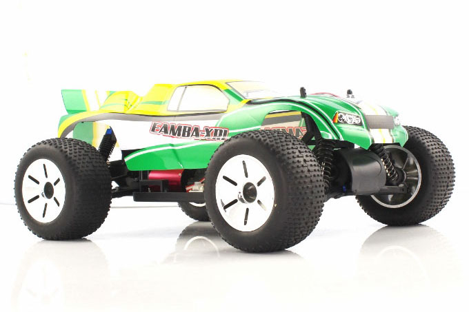 Himoto 1:10 Brushless EAMBA Truggy Green